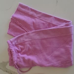 Chaser pink french terry jogger, NWT, Large